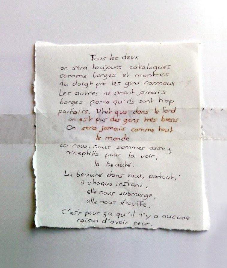 lettre à Laura